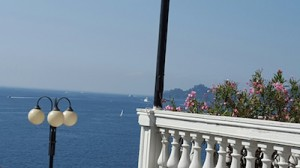 View from hotel in Rapallo