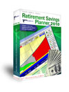 Retirement Savings Planner software for individuals or financial advisors